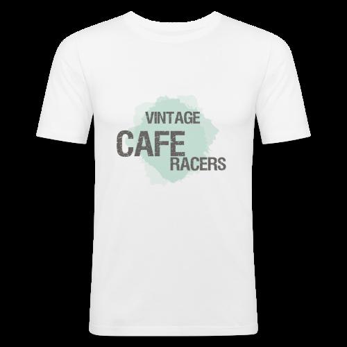 Vintage Cafe Racers  - Männer Slim Fit T-Shirt