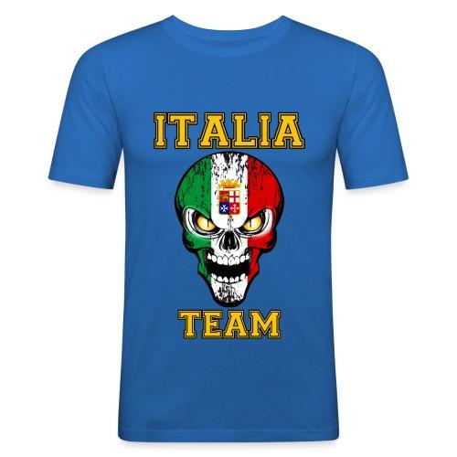 Italia team - T-shirt près du corps Homme