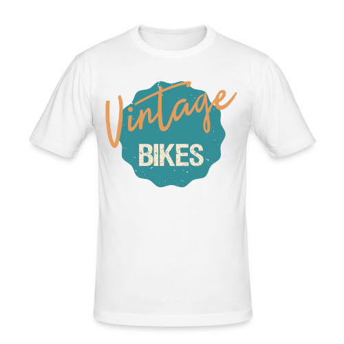 Vintage Bikes - Männer Slim Fit T-Shirt