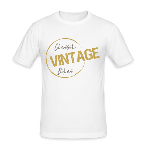 Classik Vintage Bikes  - Männer Slim Fit T-Shirt