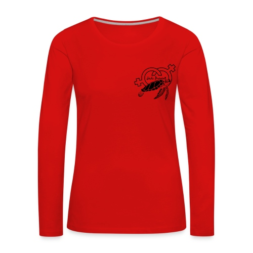 Turtles LB - Camiseta de manga larga premium mujer