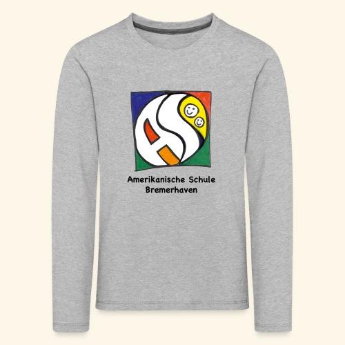 KID LONG Premium [schwarz] - Kinder Premium Langarmshirt