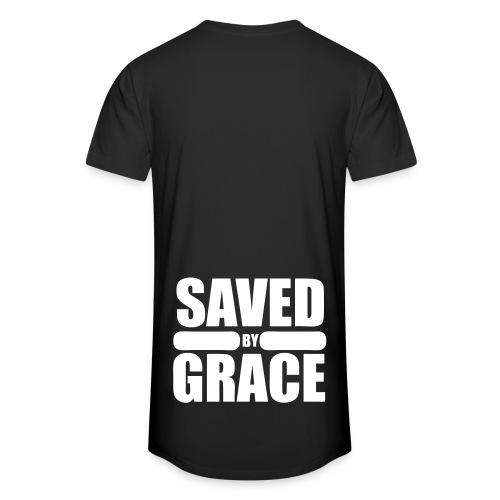 Saved by Grace | Longshirt | Back - Männer Urban Longshirt