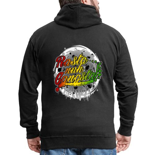 Rasta nuh Gangsta - Männer Premium Kapuzenjacke