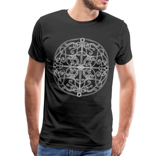 Anglian disc - Men's Premium T-Shirt