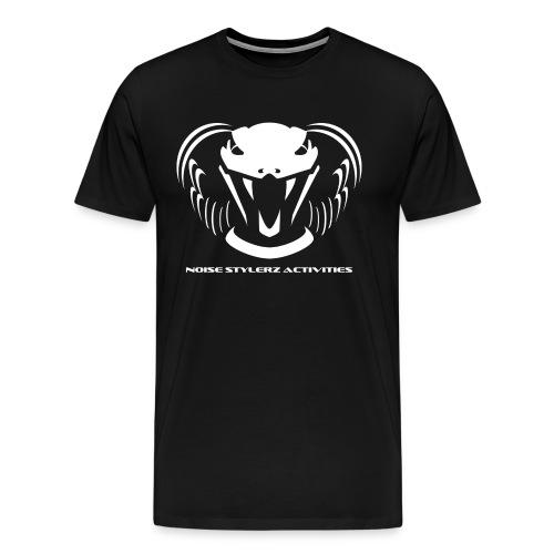 T-shirt logo NSA noir - T-shirt Premium Homme