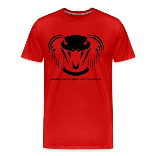 T-shirt logo NSA Rouge - T-shirt Premium Homme