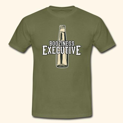 Bier-T-Shirt Boozioness Executive - Männer T-Shirt