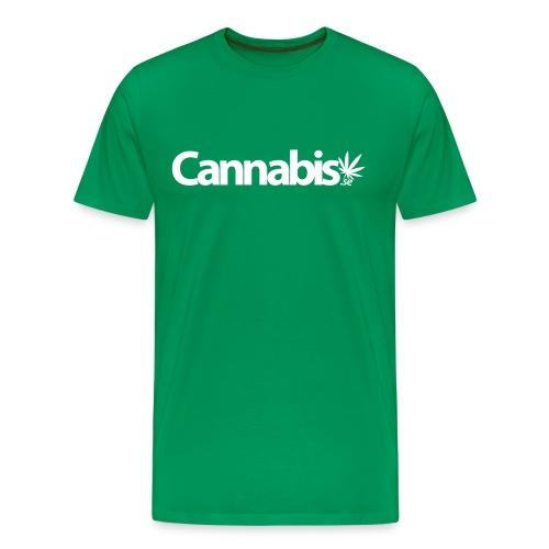 Cannabis.se - Premium-T-shirt herr
