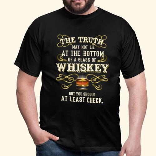 Whiskey T-Shirt - Great Gift Idea! - Männer T-Shirt