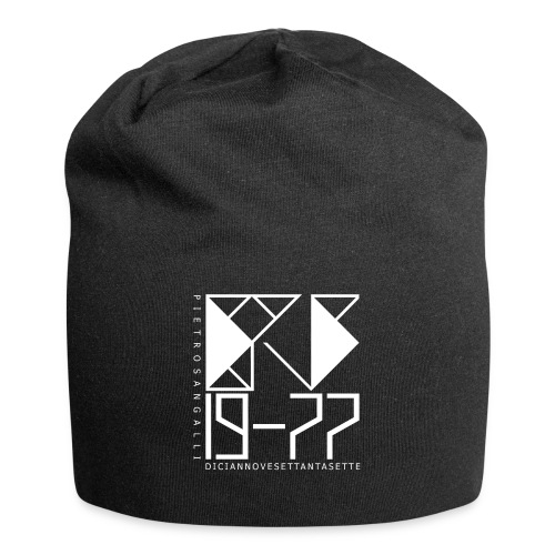 PS 19-77 - Cup Jersey Black 1 - Beanie in jersey