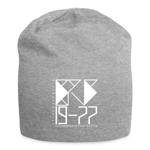 PS 19-77 - Cup Jersey Light Grey 1 - Beanie in jersey