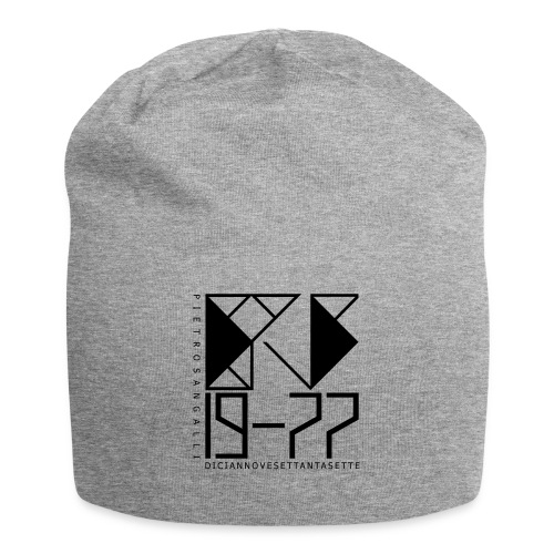 PS 19-77 - Cup Jersey Grey 2 - Beanie in jersey