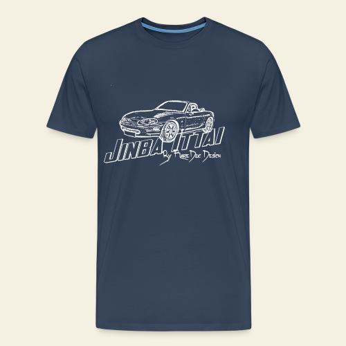 MX-5 NB Jinba Ittai - Herre premium T-shirt