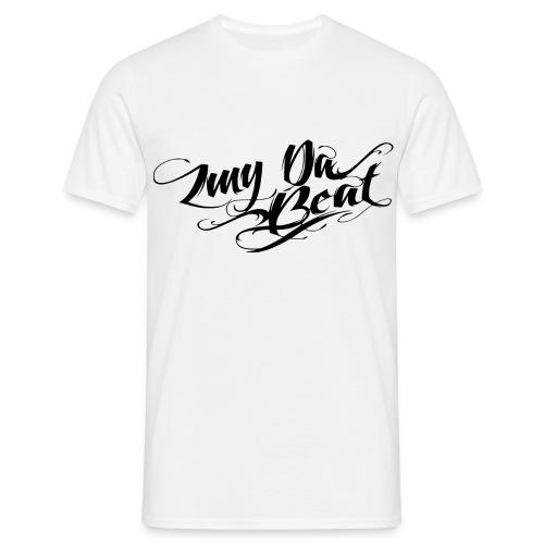 ZMY DaBeat  T-Shirt Weiß / LOGO - Männer T-Shirt