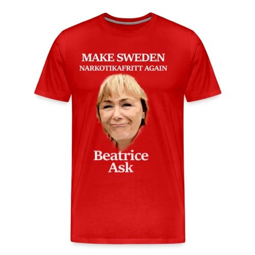 Beatrice Ask - #3 i Knarkkrigare-serien - Premium-T-shirt herr