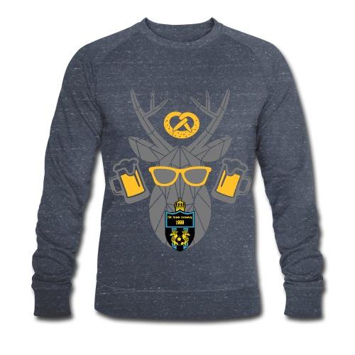 FSC Elch und Bier Sweatshirt - Männer Bio-Sweatshirt von Stanley & Stella