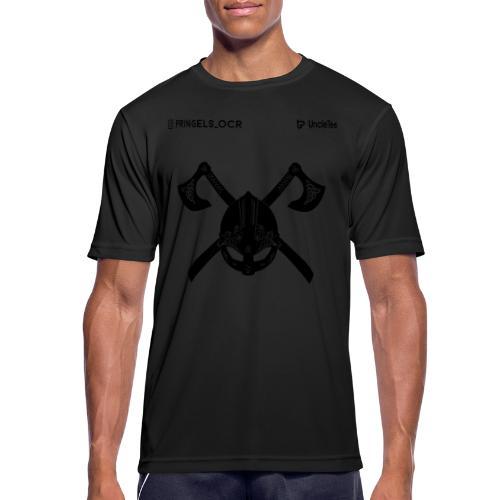 pringels_ocr jomsviking black - mannen T-shirt ademend