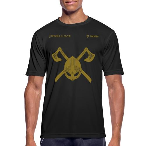 pringels_ocr jomsviking gold - mannen T-shirt ademend
