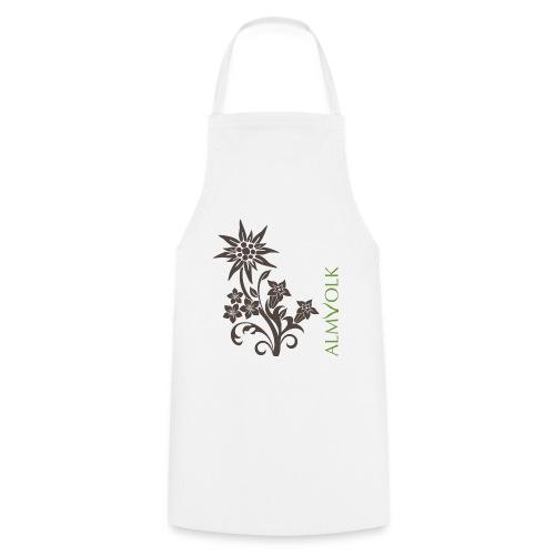 Kochschürze ALMVOLK Alpenblumen - Kochschürze