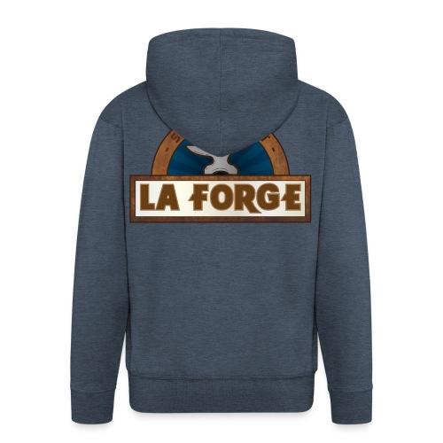 La Forge / Veste à capuche Premium Homme - Veste à capuche Premium Homme