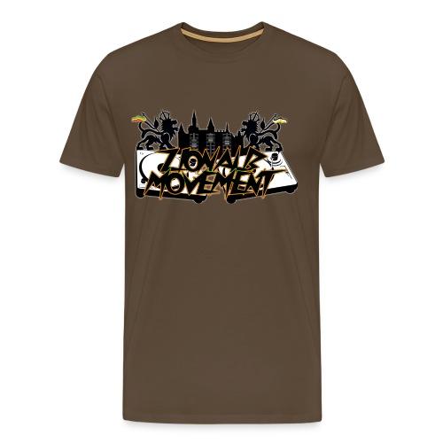 Zionalb Movement Logo 2018 - Männer Premium T-Shirt