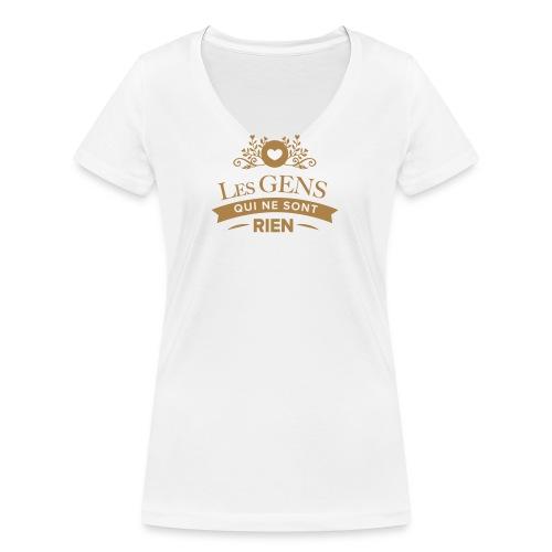 T-shirt Les Gens qui ne sont rien - T-shirt bio col V Stanley & Stella Femme