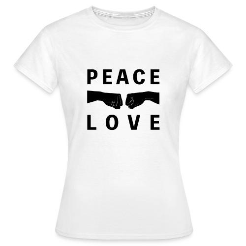 PEACE-LOVE - T-shirt Woman 1 - Maglietta da donna