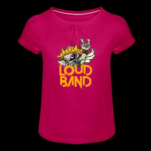 Camiseta Loud Band Niña - Camiseta para niña con drapeado