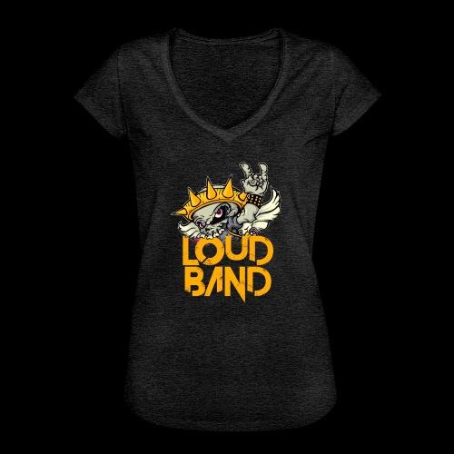 Camiseta Loud Band Chica - Camiseta vintage mujer