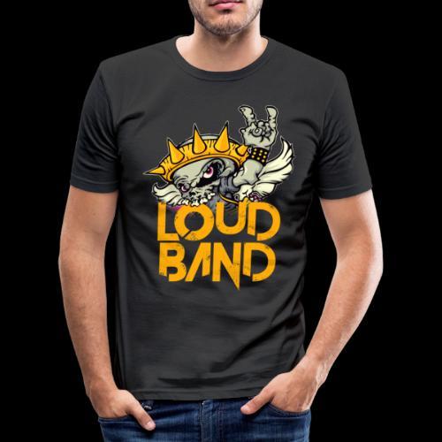 Camiseta Loud Band Chico ajustada - Camiseta ajustada hombre