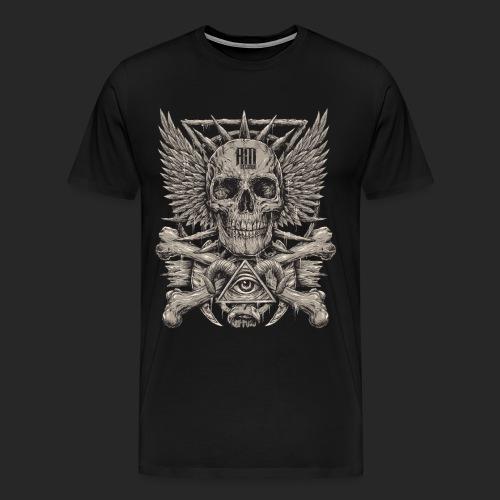 Aurora Mortem Records t-shirt HS001 - T-shirt Premium Homme