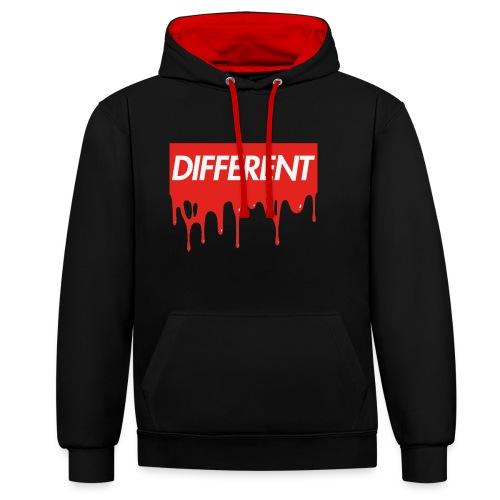 Drippy Different  Ltd - Contrast hoodie