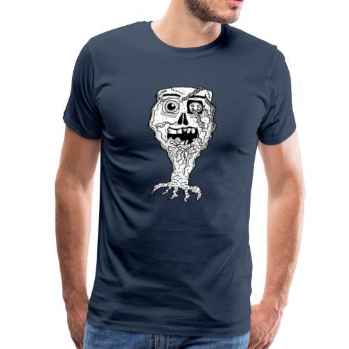 Button eye Skull - T-shirt Premium Homme