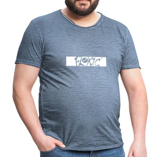 Basic washed - Männer Vintage T-Shirt