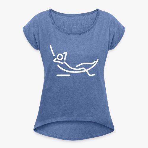 iYpsilon Shirt Hängematte - Frauen T-Shirt mit gerollten Ärmeln
