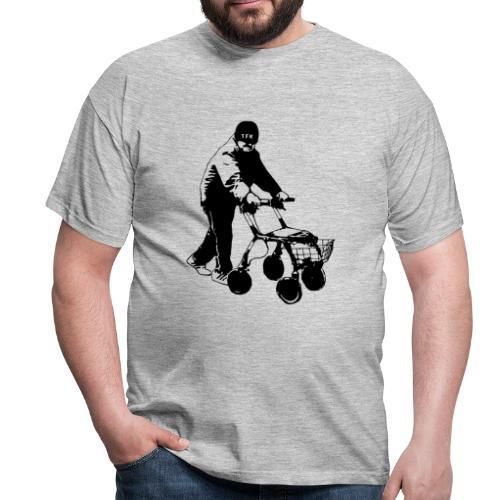 Grå Legend (herr) - T-shirt herr