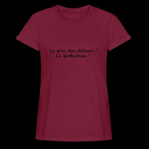 T-shirt oversize Femme