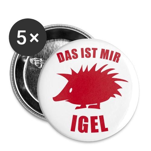 Mir Igel Button - Buttons klein 25 mm