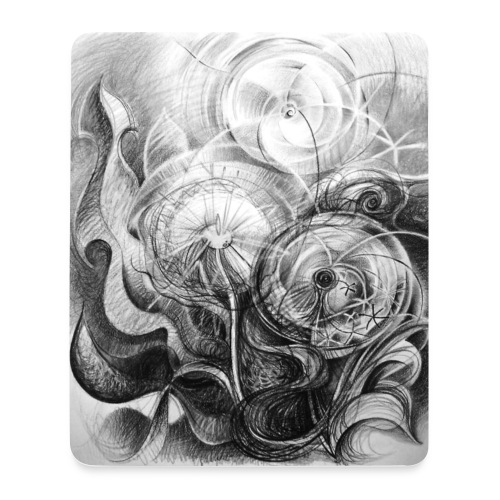 Pusteblumen - Mousepad (Hochformat)