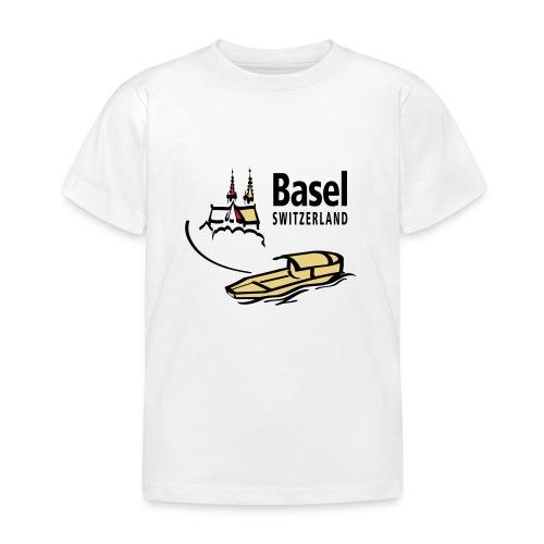 Basel Rhine - Kinder T-Shirt