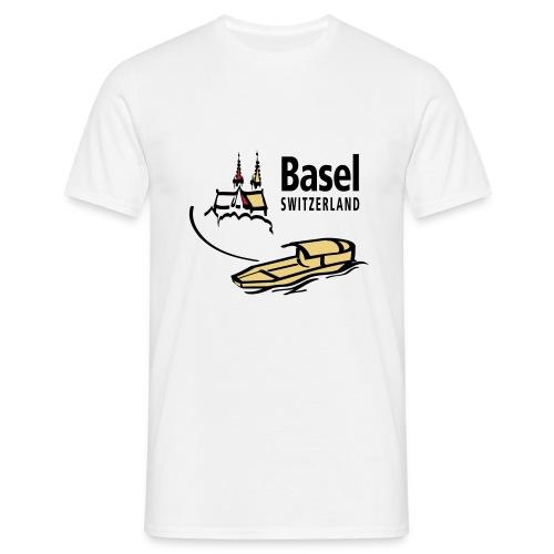 Basel Rhine - Männer T-Shirt