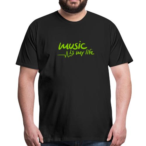 music is my life... - Männer Premium T-Shirt
