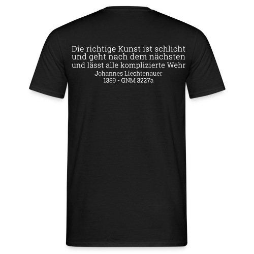 3W11 - T-Shirt SCHWERTTAG - Männer T-Shirt