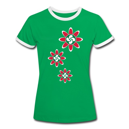 Fleur Basque - T-shirt contrasté Femme