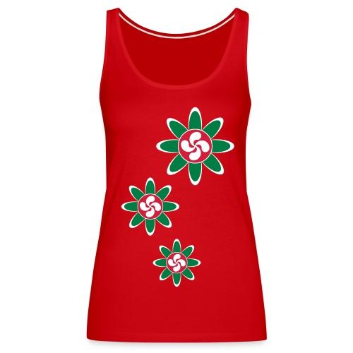 Fleur Basque - Débardeur Premium Femme