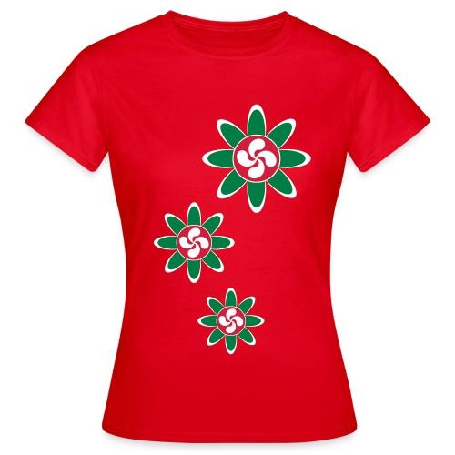 Fleur Basque - T-shirt Femme