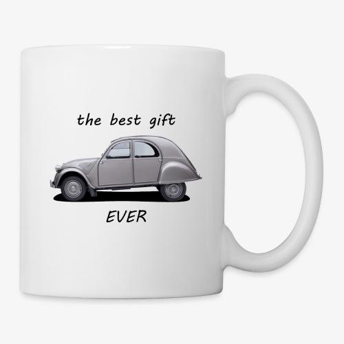 mug best gift ever (2cv) - Mug blanc