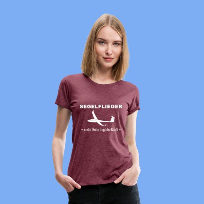 Segelflieger -  in der Ruhe liegt die Kraft - lustiger Spruch für Segelflieger - das perfekte Geschenk