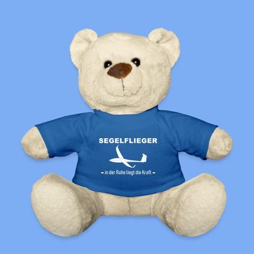 Segelflieger -  in der Ruhe liegt die Kraft - lustiger Spruch für Segelflieger - das perfekte Geschenk - Teddy Bear
